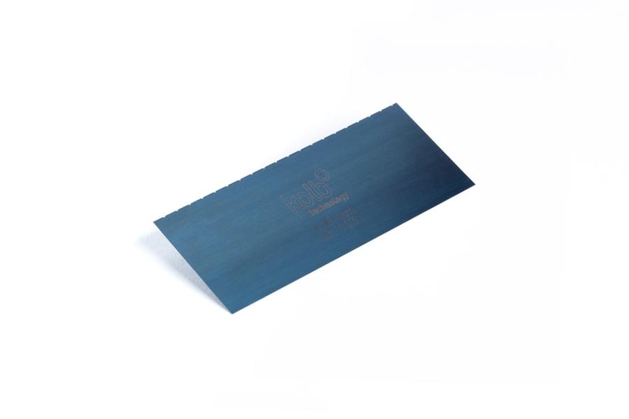 德國Kolb鋼質刮片 單邊帶齒 11731