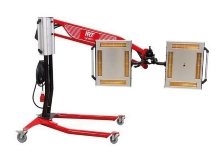 便携式油泥加热器 IRT4-2PcAuto/ Clay Heater